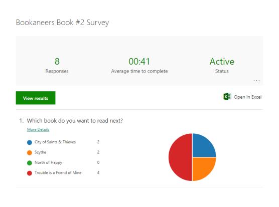 book #2 survey
